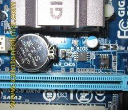 cara reset BIOS